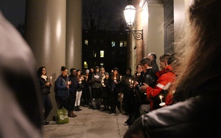 AIDS Day Vigil Moment of Silence