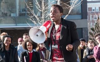Dehlia Umunna at HLS Solidarity Rally