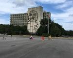 Che at the Plaza Revoluciónario