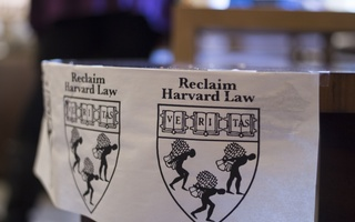 """""""Reclaim Harvard Law"""" Poster"""