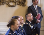 Harvard ROTC Students Recognized by Air Force Secretary