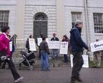 Extension School Protest