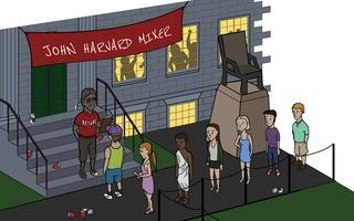 Harvard's Social Experiment illustration