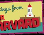 Your Harvard postcard
