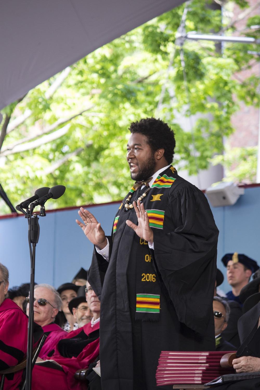 Joshua B. Campbell Delivers the 2016 Senior English Address
