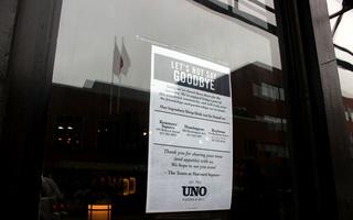 Uno's Closing