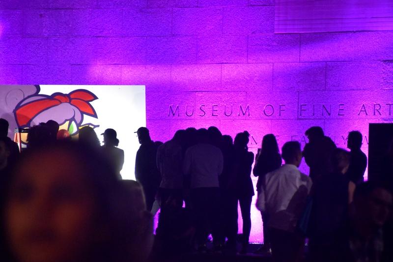 Museum of Fine Arts' #mfaNOW Event