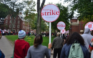 Students March in Support of HUDS