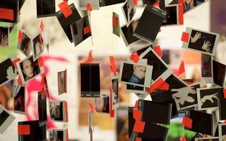 Harvard Dance Project Polaroids