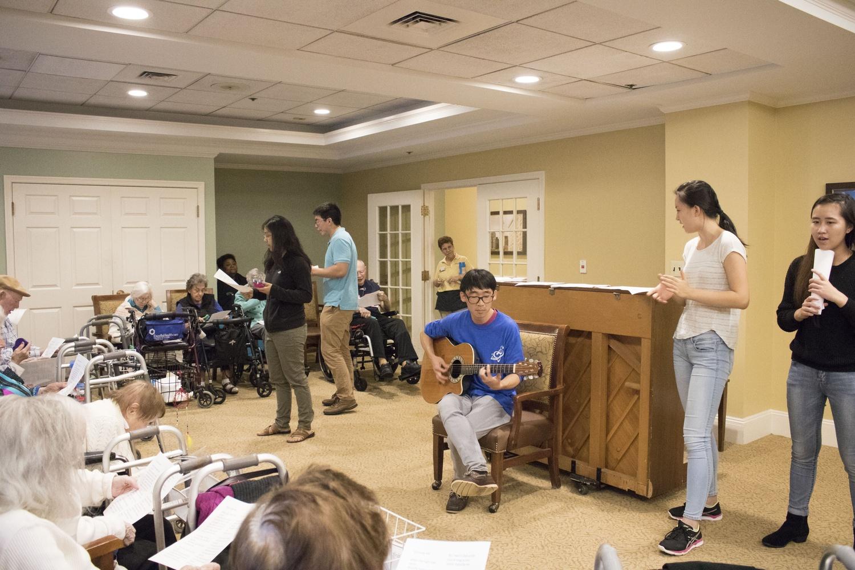 Crooners Perform