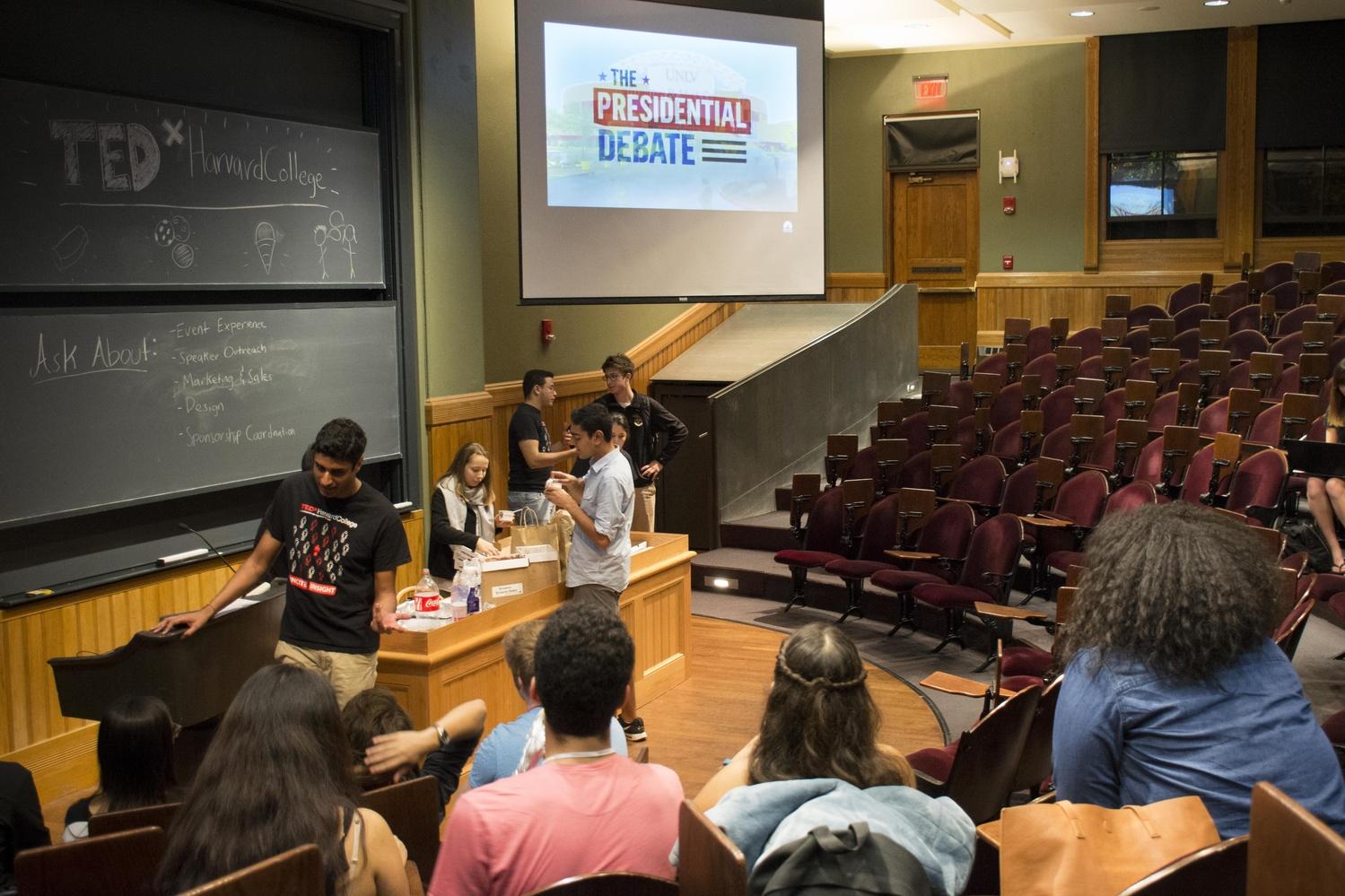 Sever Hall Debate Watch