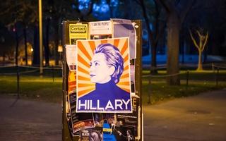 Hillary on Poster Tree