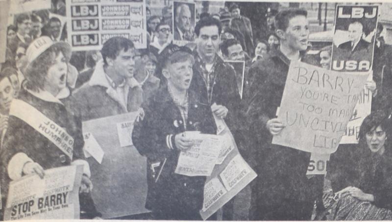 1964 Anti-Goldwater speakers