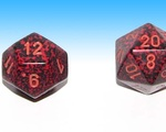 Dungeons and Dragons Dice Stock Image