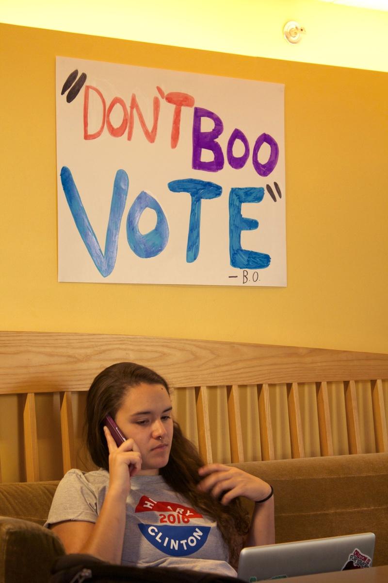 """""""Don't Boo, Vote"""""""