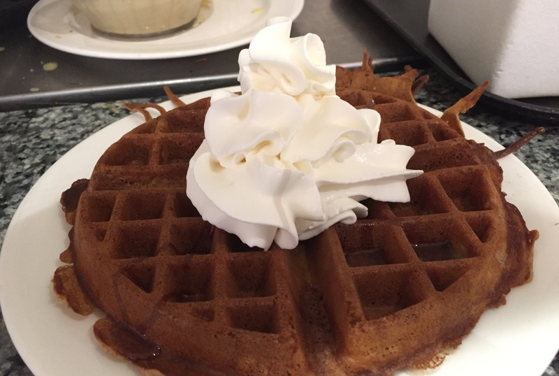 Dining Delights: Chocolate Waffles