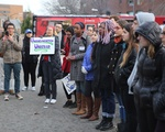 Rally for a Sanctuary Campus