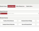 my.Harvard courses