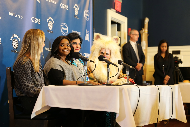 Octavia Spencer at Press Conference