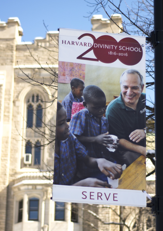 Divinity School 200th Banner