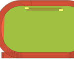 Overhead View of a Track