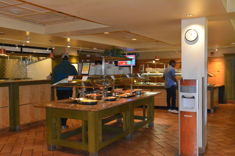 Cabot Dining Hall Servery
