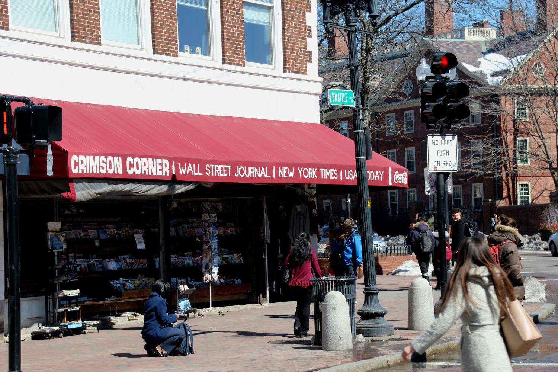 Crimson Corner Newstand