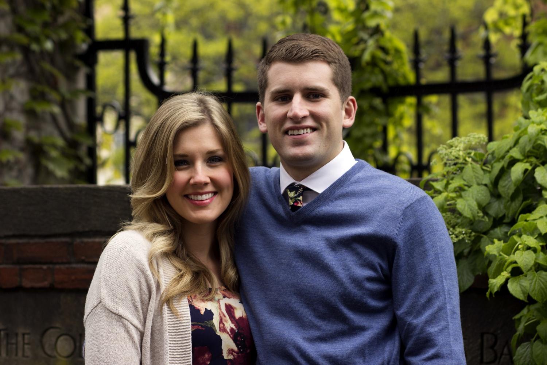 Corbin J. Miller '17 and Brittany A. Barrett Miller