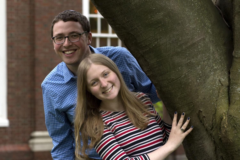 Talia Weisberg '17 and Evan B. Crane