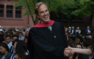Dean Dingman at Convocation