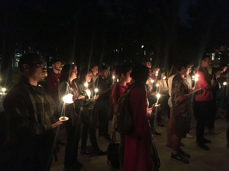 Vigil for Houston