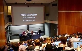 CS50 orientation