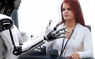 Robot and human