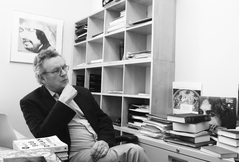 "Professor Richard Thomas, author of ""Why Bob Dylan Matters."""
