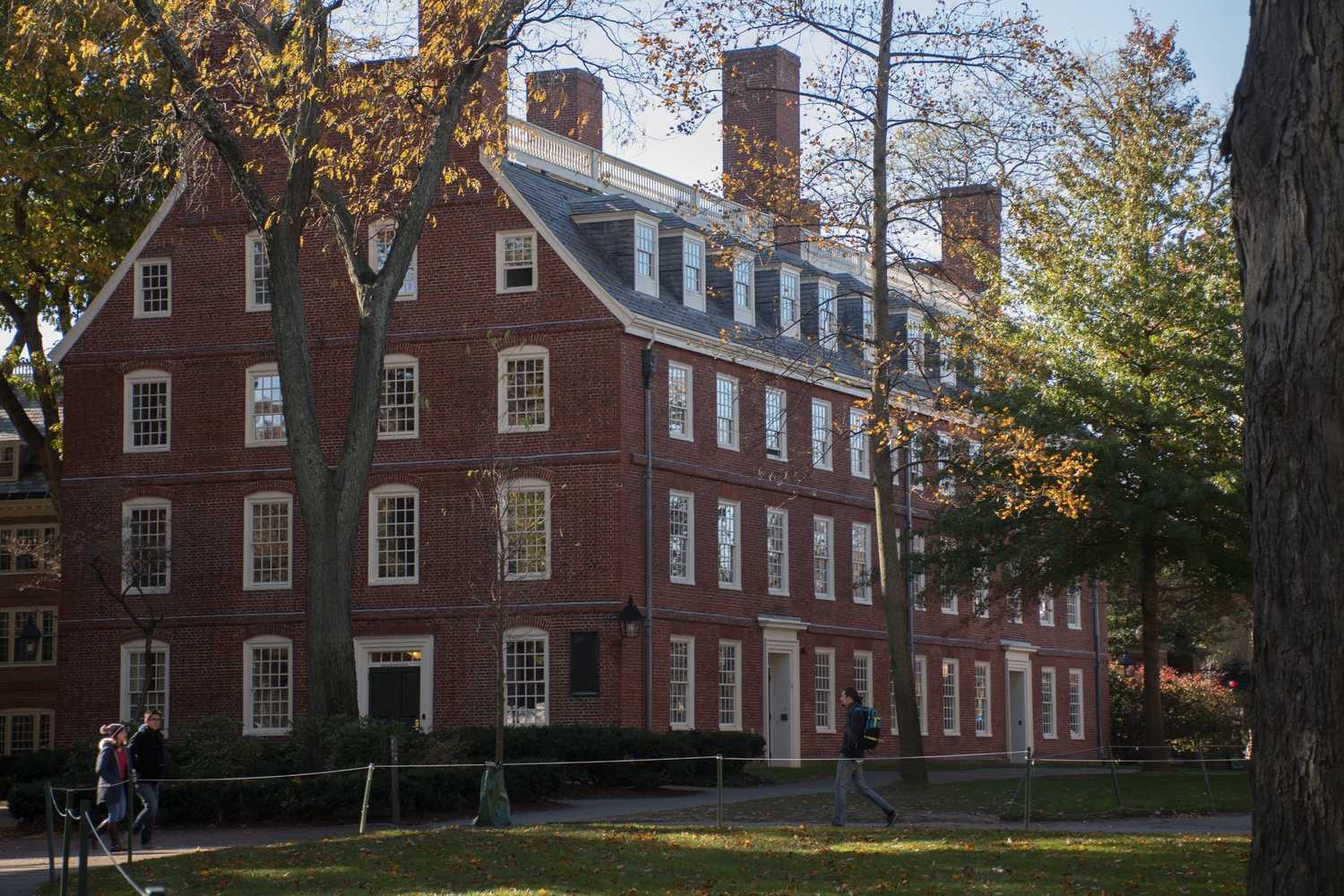Mass Hall, Fall 2017