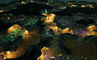"""Screenshot from """"Empires of the Undergrowth"""" Early Access gameplay"""