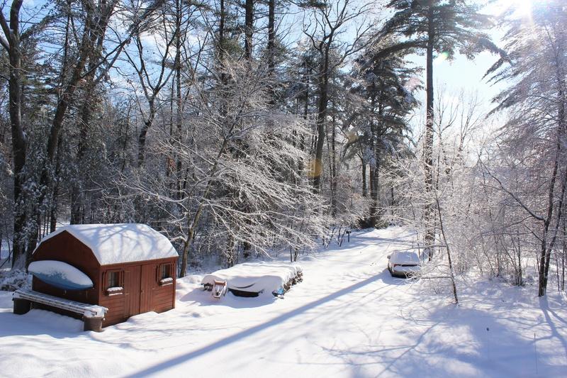 Suburban Snow
