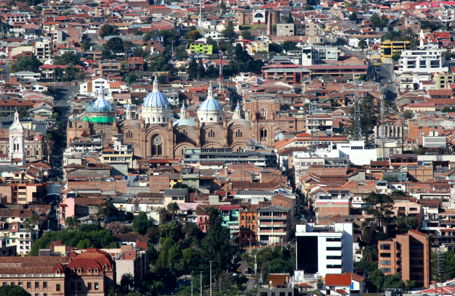 Cuenca from Above