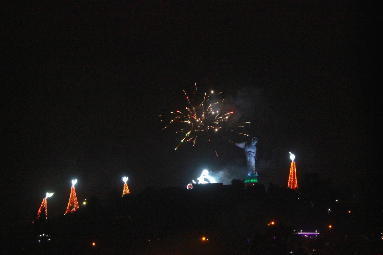 Fireworks Over the Virgin