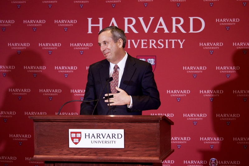 Lawrence S. Bacow Speaking