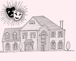 contemporary love suburbia house