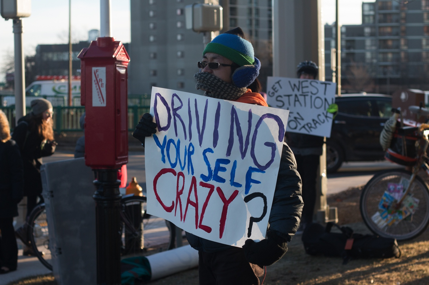Transit Protest - Signs