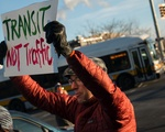 Transit Protest - 1 Sign