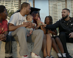 "Drake in the ""God's Plan"" music video."