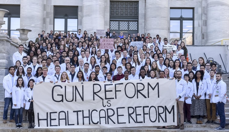 Longwood Students Protest Gun Violence