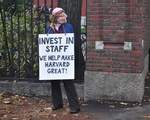 HUCTW Protestor, Revisited