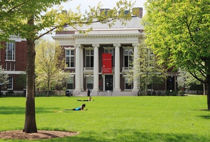 Radcliffe Yard in Spring