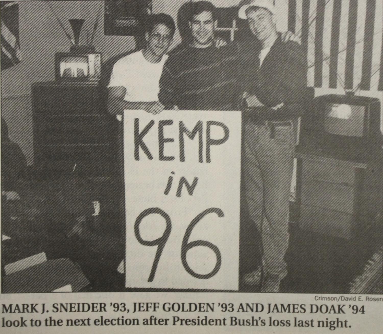 Clinton Wins in 1992