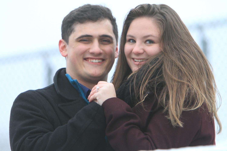Ben Iuliano and Julia Thomas