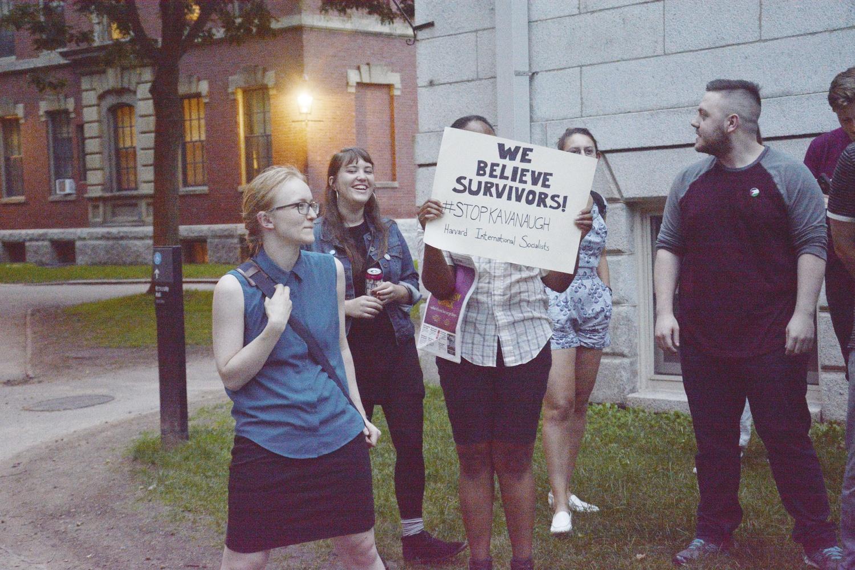 Rally Against Kavanaugh